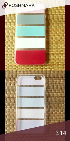 🆕 COLOR BLOCK IPHONE 6/6S+ PLUS CASE 🆕 multi color block iPhone 6/6s+ plus phone case. Stylish, 4 color combine this on trend case. Flexible soft rubber case. State of the art thermo laser bonded. Imported, silicone rubber. Reasonable offers/bundles welcome🚫trades or holds. My environment is clean/organized/pet/smoke free. Please make any inquires, all sales are final on PM. Thank you for shopping my boutique. DARLING Accessories Phone Cases