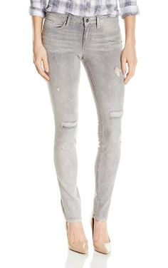Jessica Simpson Women's Cherish Skinny Jean in Grey