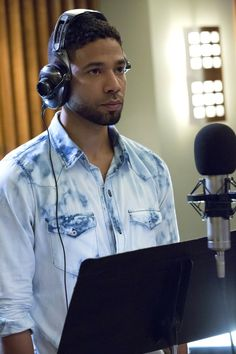 Jamal Lyon wearing NSF Clothing Bleach Washed Western Shirt