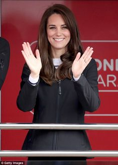 Prince William, Prince Harry and Kate Middleton together cheered on London marathon runners as they supported from the sidelines. The royals champion the marathon's charity Heads Together