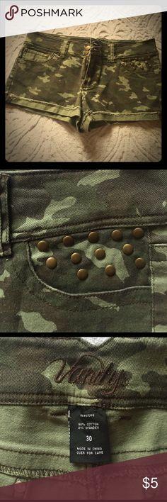 NWOT Vanity shorts NWOT vanity Dakota camp shorts Vanity Shorts Jean Shorts