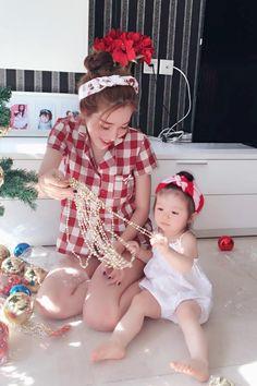 """Elly Tran Ha and Baby Lam """" (^_^)"""