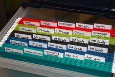 Destination Domestication: Baby Boxes (love this idea if you aren't into scrapbooking!)