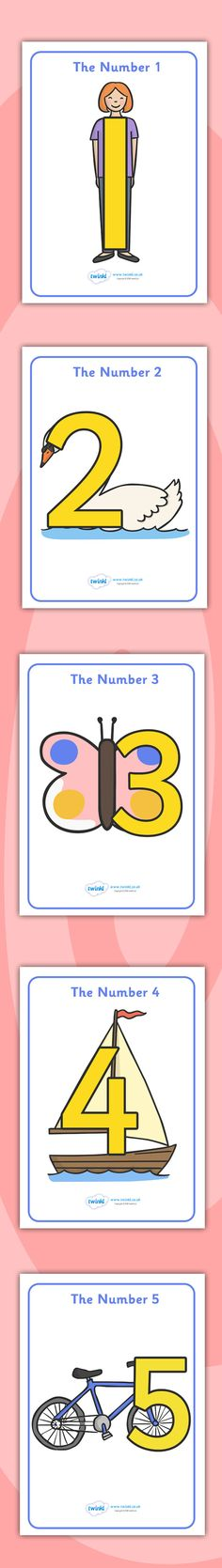 Twinkl Resources >> Number Shapes Posters >> Printable resources for Primary, EYFS, KS1 and SEN. Thousands of classroom displays and teaching aids! Numeracy, Maths, Numbers, Shapes