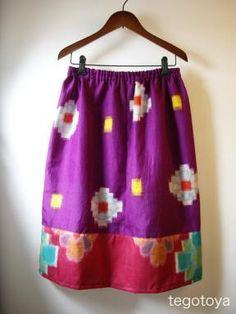 Kimono Remake skirt