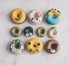 """Not sure if I'd ever eaten cuter things in my life.. Thank you for the most adorable donuts ever @eliseaki !! """