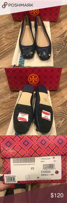 Tory Burch Ballet Flats Navy 8.5 NIB NIB - Tory Burch Ballet Flats Navy sea color size 8.5 Tory Burch Shoes Flats & Loafers