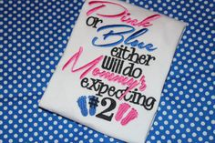 Pregnancy announcement baby number 2 shirt or by stephstowell, $20.00 cute for a future announcement