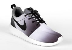 "The popular Nike Roshe Run silhouette is adding another edition to its lineup, just in time for the Spring/Summer season. Up next we can expect to see the Nike Roshe Run ""Eclipse"" colorway hit the shelves. The shoe will come built using a Black and White color selection, by featuring a color fade effect all"