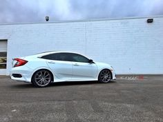 """19"""" HFP wheels (Honda Factory Performance) with body kit on 2016 Civic.  modified-2016-civic-sp7128a.jpg"""