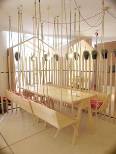 This Cafe Was Designed To Be Fun And Playful For Adults And Children/Buenos Aires, Argentina,