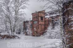 alte Fabrik im Winter 2014