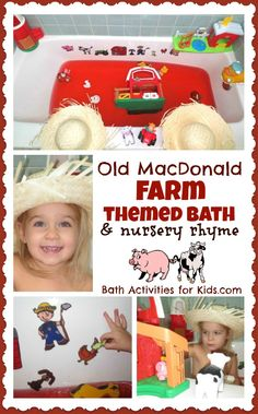 This Old MacDonald Farm Themed Music Bath is especially FUN for young children.