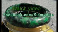 Maw Sit Sit Chromium Jade Bangle 59x16x10mm100%Natural&Untreated-Mine depleated  #Bangle
