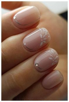 The Best Wedding Nails 2019 Trends, Wedding Nails 2019 Pink White Flowers . : The Best Wedding Nails 2019 Trends, Wedding Nails 2019 Pink White Flowers . Simple Wedding Nails, Wedding Manicure, Wedding Nails Design, Nail Wedding, Bridal Nail Art, Wedding Decor, Wedding Ideas, Matte Nails, Pink Nails