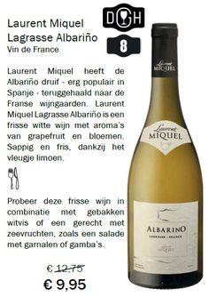 Albariño wordt veelal in Spanje en Portugal gebruikt. En nu door Laurent Miquel teruggehaald naar Frankrijk. Had hij eerder moeten doen, wat een prachtige wijn!!!