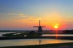 """""""Dezelfde molen, dezelfde zon, maar schoonheid verveelt nooit"""", schrijft Aris Bremer"""