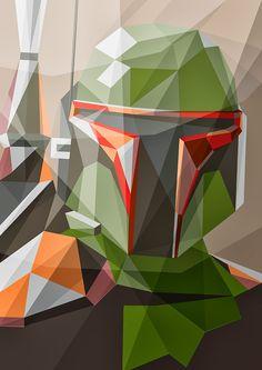 Liam Brazier é um ilustrador - ilustrações poligonais