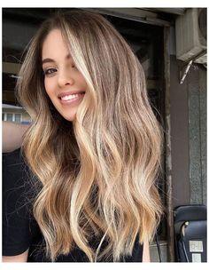 Blonde Hair Care, Blonde Hair Looks, Brown Blonde Hair, Brunette Hair, Long Blond Hair, Hair With Blonde Tips, Summer Blonde Hair, Winter Blonde, Beige Hair