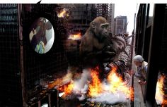 King Kong fantasy wallpaper and backgrounds King Kong, Cool Backgrounds, Wallpaper Backgrounds, King Pic, Fantasy Background, Picture Boxes, Free Hd Wallpapers, Wallpaper Downloads, Cool Wallpaper