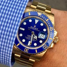 SUBMARINER Ref 116618 LB is dedicated to @swisswrists congrats for reaching ... | http://ift.tt/2cBdL3X shares Rolex Watches collection #Get #men #rolex #watches #fashion