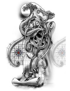 ¾ Sleeve Nautical Cover-Up Design