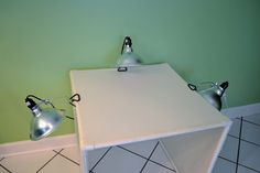 Easy to make PVC light box for photography!
