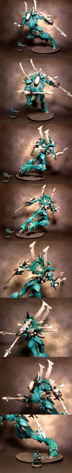 Craftworld Eldar Mymeara Wraith Knight