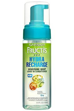 Garnier Fructis Hydra Recharge Moisture Whip Leave-In Conditioner, 5 fl oz Loading. Garnier Fructis Hydra Recharge Moisture Whip Leave-In Conditioner, 5 fl oz Keratin Complex, Leave In Conditioner, Hair Conditioner, Aussie Conditioner, Just Beauty, All Things Beauty, Beauty Stuff, Perfect Makeup, Pretty Makeup