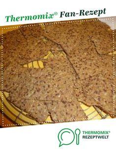 Knäckebrot von Kleckerlecker. Ein Thermomix ® Rezept aus der Kategorie Brot & Brötchen auf www.rezeptwelt.de, der Thermomix ® Community.