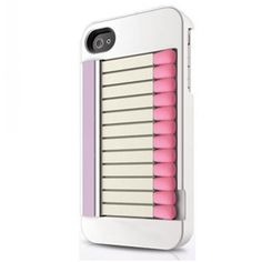 Musubo Matchbook Pro Case for iPhone Pack - Retail Packaging - White Iphone 4 Cases, Iphone 4s, 4s Cases, Phone Shop, Geek Gadgets, Iphone Design, Best Iphone, Iphone Accessories, Nerd Style