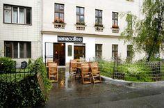 První kavárna mamacoffee v Londýnské ulici