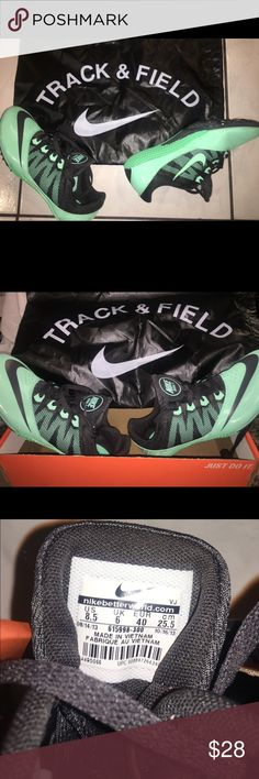 Nike Zoom Rival Track and FIELD SHOES Nike Zoom Rivals Track and Field Shoes Men (7) Women's (8.5)...Never Worn Nike Shoes Athletic Shoes