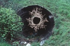 Andy Goldsworthy    Hanging hole; Holbeck, Leeds; May 1986