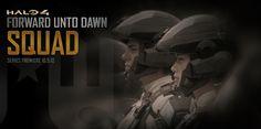 """Holocrn: """"Squad"""", ultimo corto previo a Halo 4: Forward Unto Dawn"""