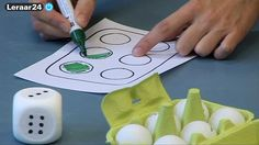 Rekenen - Maniertjesdoos 2: eierdozen - Video - leraar24. Deze gebruiken om structuren aan te leren bij kleuters