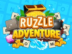 Ruzzle Adventures Logo