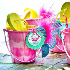 Chic & Creative Pink Flamingo Pool Party