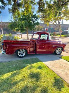 57 Chevy Trucks, Gm Trucks, Chevy Pickups, Cool Trucks, Pickup Trucks, Cool Cars, Classic Trucks, Classic Cars, Chevy Apache