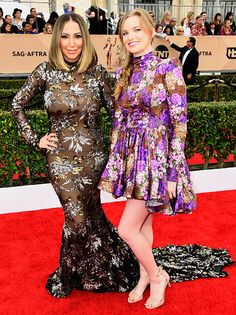 Annual Screen Actors Guild Awards - Diana Madison and Kylie Hart Red Carpet 2016, Sag Awards, Celebrity Dresses, Kylie, Diana, Actors, Formal Dresses, Celebrities, Fails