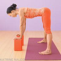 parsva uttanasana  iyengar yoga forward bends  pinterest