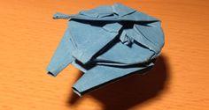Cómo hacer un Halcón Milenario de origami