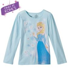 Disney Frozen Elsa Snowflake Tee by Jumping Beans - Girls 4-7