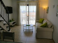 Apartment Rental in Playa de las Americas with shared pool, golf nearby, Tenerife Royal Gardens - shared pool and beach/lake nearby Royal Garden, 2 Bedroom Apartment, Rental Apartments, Tenerife, Terrace, Swimming Pools, Golf, Gardens, Curtains