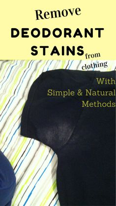Essential Oil Sweat Stain Remover