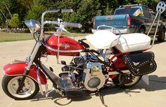 1958 Cushman Eagle - My first bike (WG)