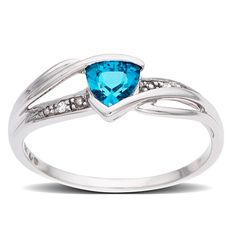 Topaz ring... Looks very similar to the one I got for my Sweet 16 from my grandma :)