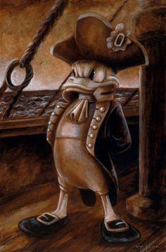Darren Wilson - DCL 2013 - Admiral Donald Duckdarrenwilsonart on facebook