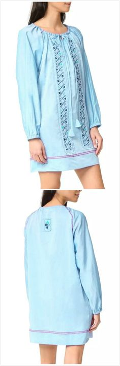 There's more than one good reson why you shoulder buy this Geometric Graphic Lace up Dress. Own it at AZBRO.com