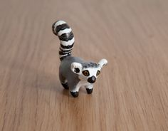 The ringtailed lemur  animal totem  Polymer by LifedanceCreations, €21.84